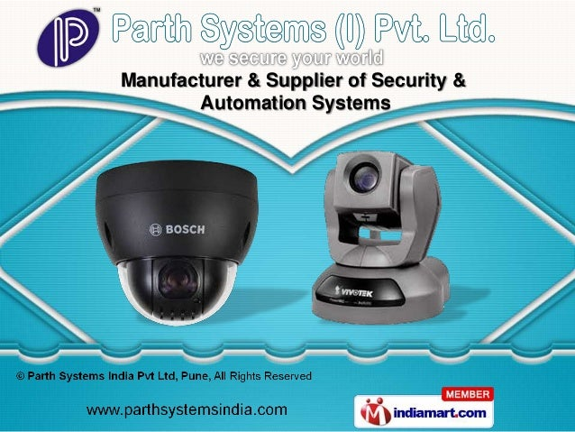 Manufacturer & Supplier of Security &       Automation Systems