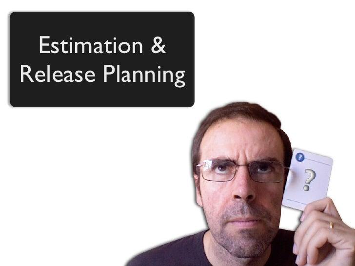 Estimation & Release Planning
