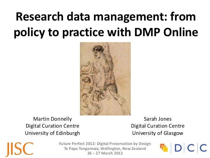 Martin Donnelly Sarah Jones DMP Online