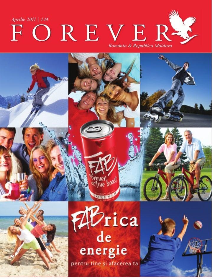 Revista Forever Martie 2011