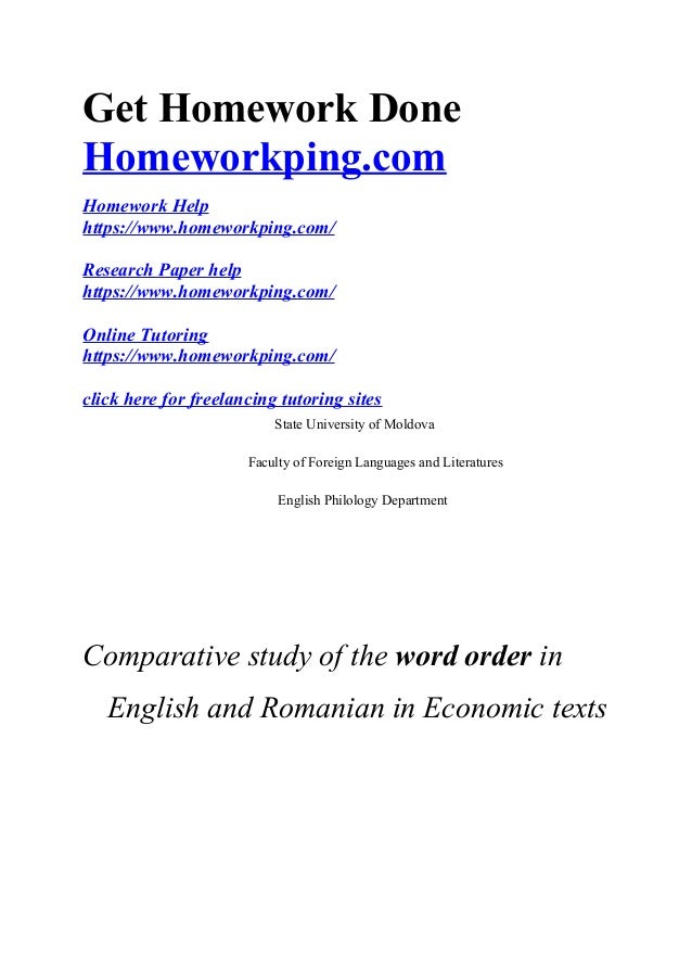homework help english grammar