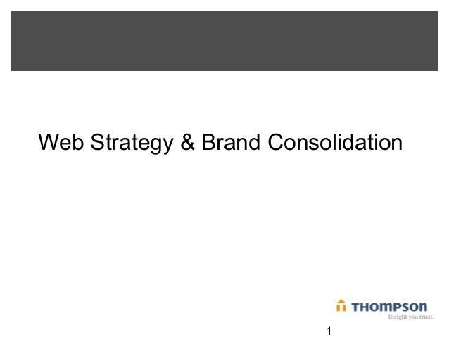 Thompson Web Strategy