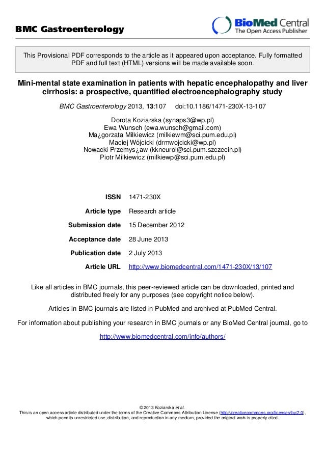 the mini mental state examination pdf