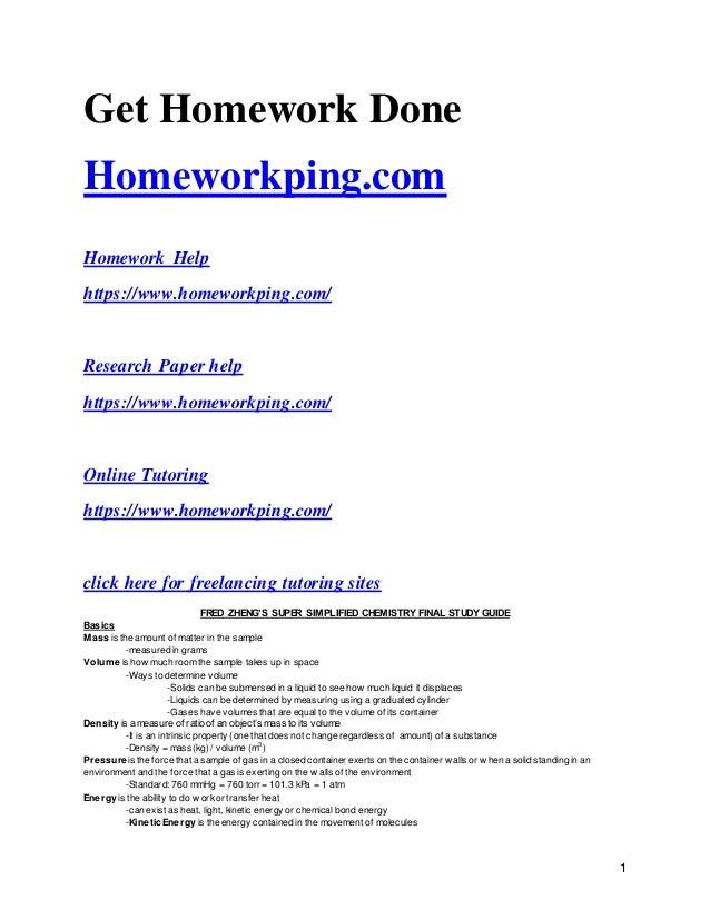 191 homework help 14850