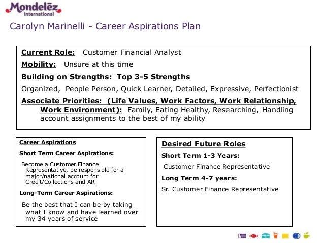 career aspirations and reflection on skills development essay
