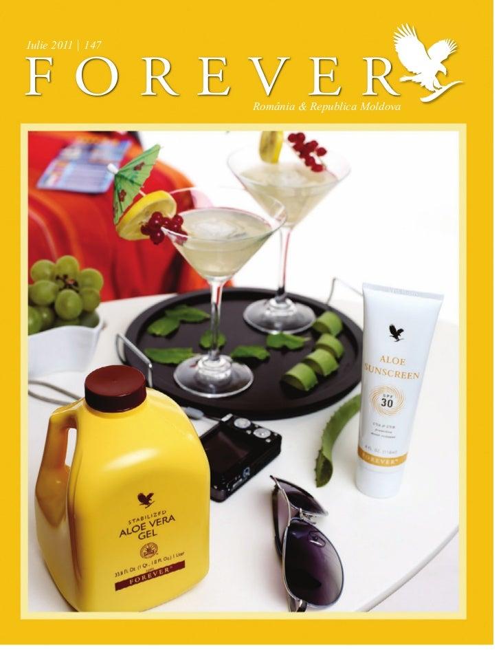 Revista Forever Iulie 2011
