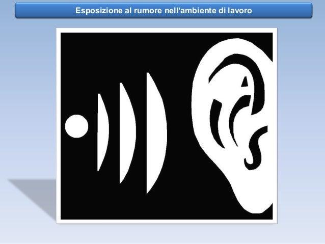 Esposizione al Rumore - Vibrazioni   Rischio rumore nell'ambiente di lavoro