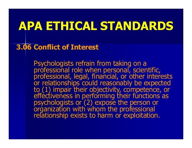 apa ethics Apa (american psychological association) style is most commonly used to cite sources within the social sciences this resource, revised according to the 6th edition, second printing of the apa manual, offers examples for the general format of apa research papers, in-text citations, endnotes/footnotes, and the reference page.