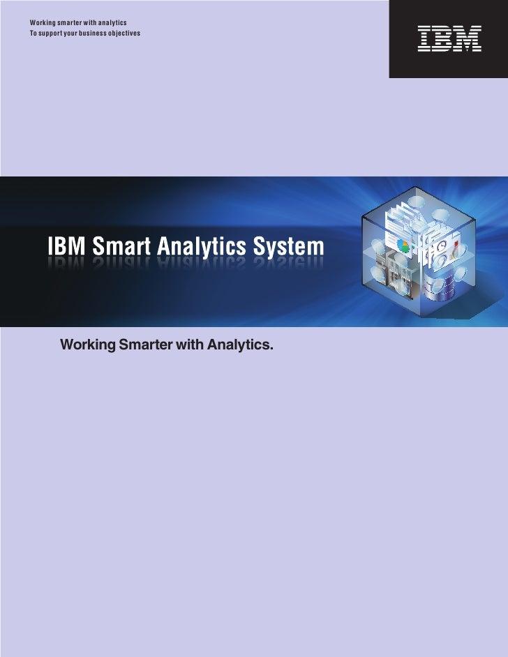 IBM Smart Analytics System Brochure- Network Management