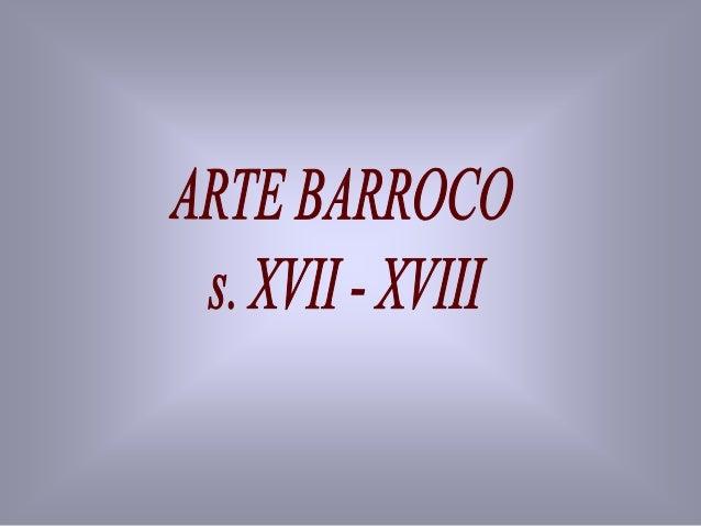 14 Arte barroco