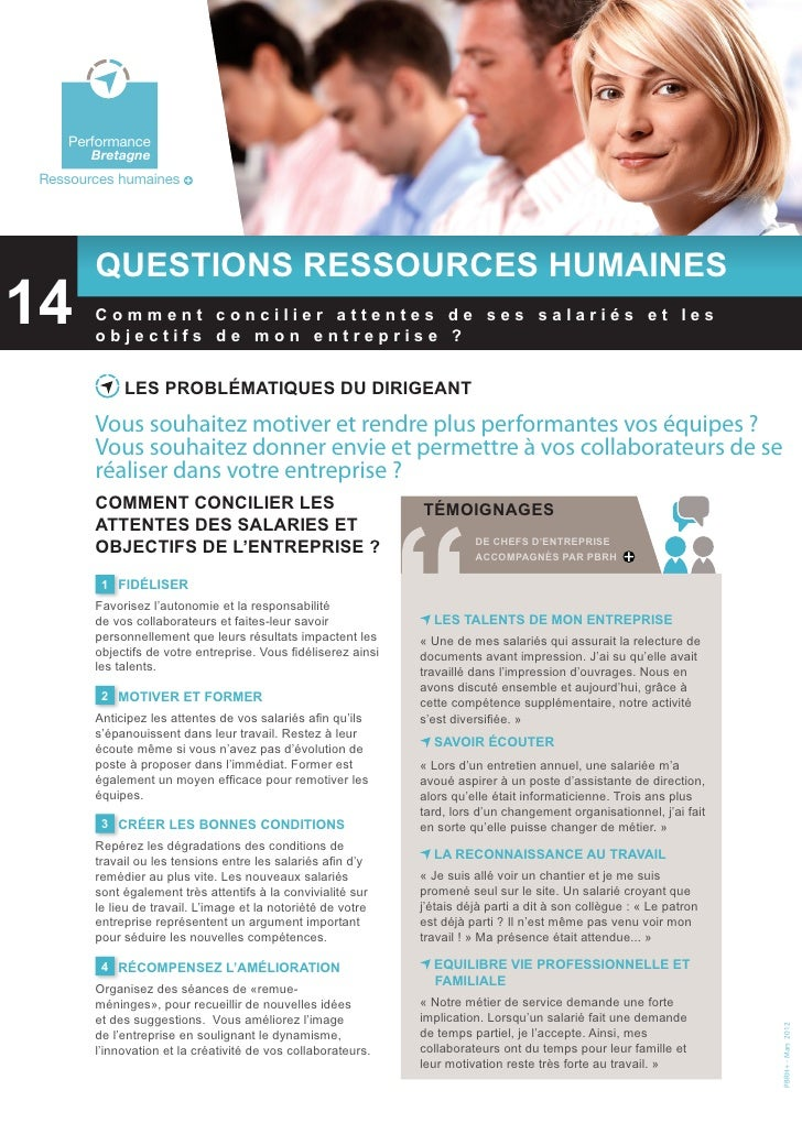 Bretagne    Environnement    Performance        BretagneRessources humaines        Questions ressources humaines14  Perfor...