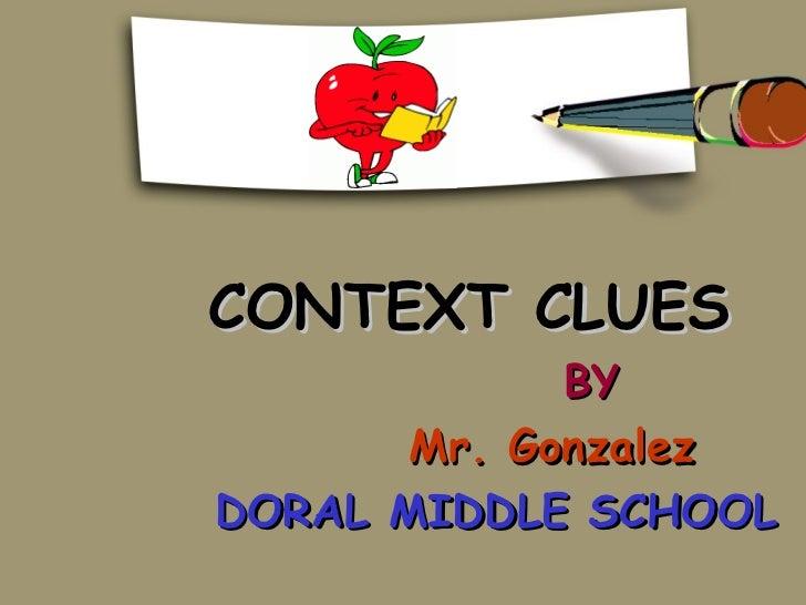 14 context clues