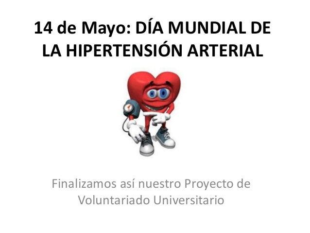 14 de mayo: