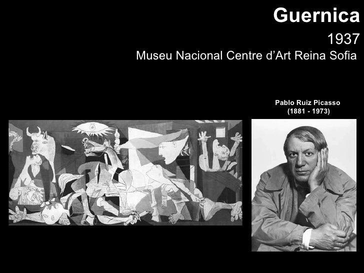 1937 Museu Nacional Centre d'Art Reina Sofia  Guernica Pablo Ruiz Picasso  (1881 - 1973)