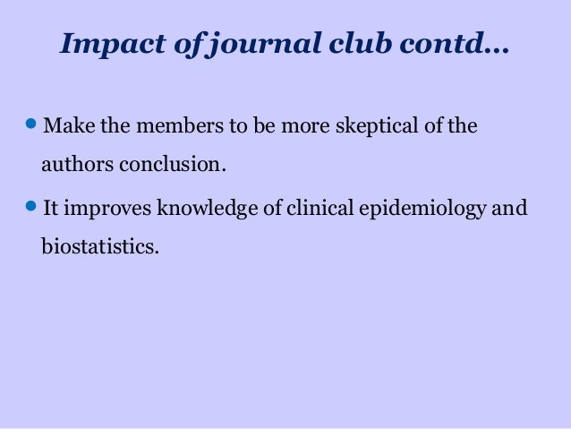 Critically evaluating a journal article