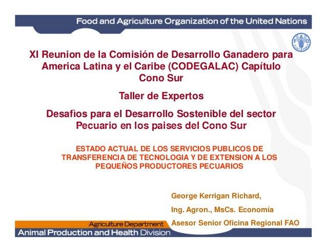 Innovación y transferencia de tecnología en el sector pecuario: identificación de brechas y líneas de acción, una experiencia para el sector bovino en América Latina