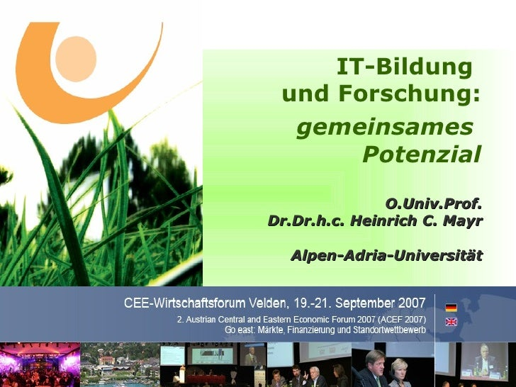 IT-Bildung                                                        und Forschung:                                          ...