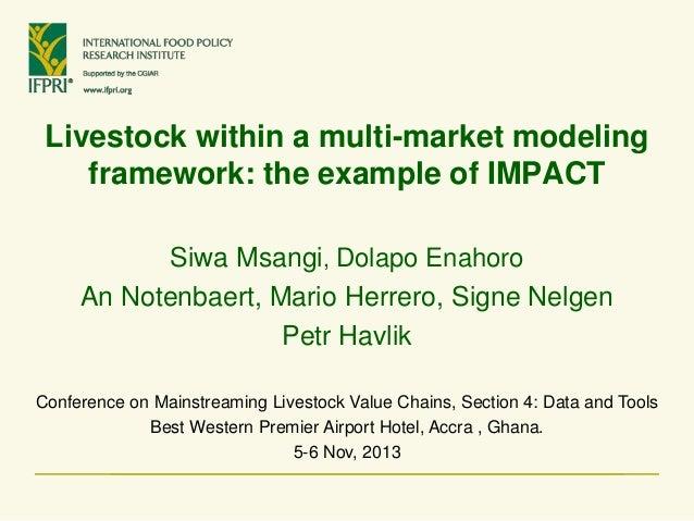 14 msangi impact_livestock