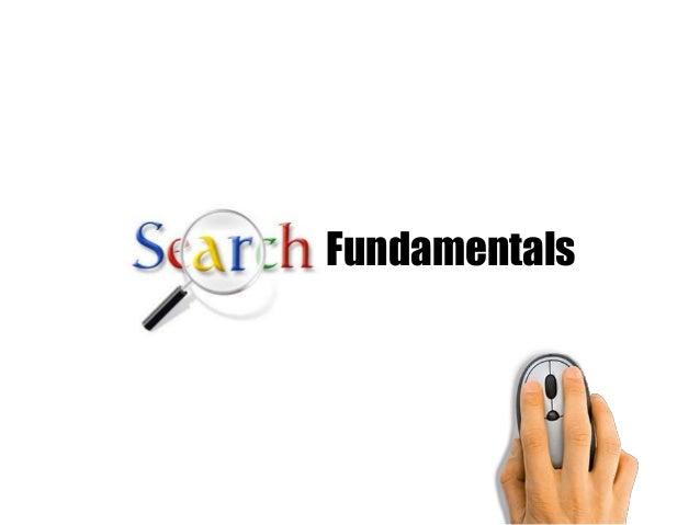 Fundamentals of Search