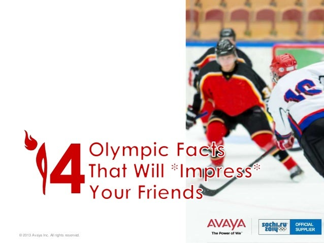 4 © 2013 Avaya Inc. All rights reserved.  1