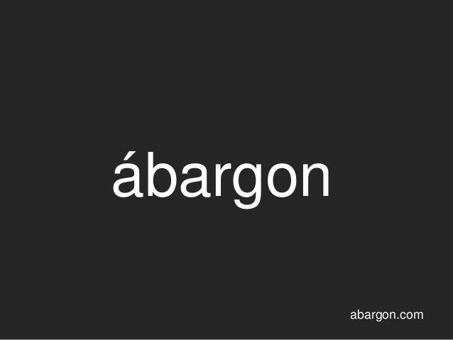 ábargon abargon.com