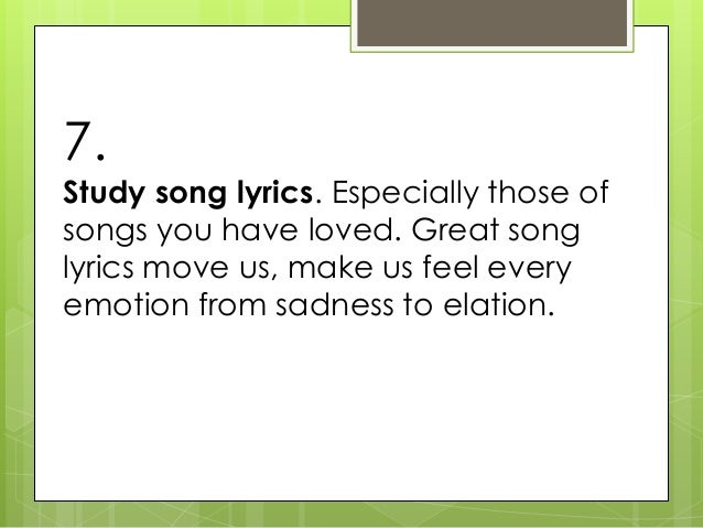learn how to write song documentary