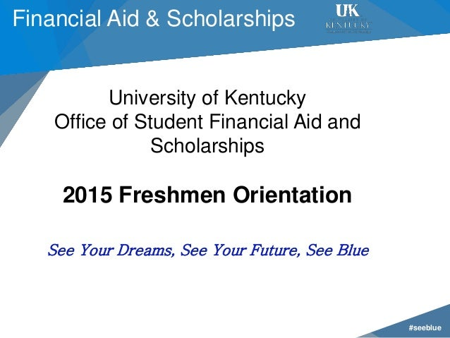See blue u 2015 financial aid - Student financial aid office ...