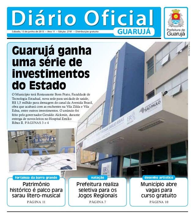 Diário Oficial 15/06/2013