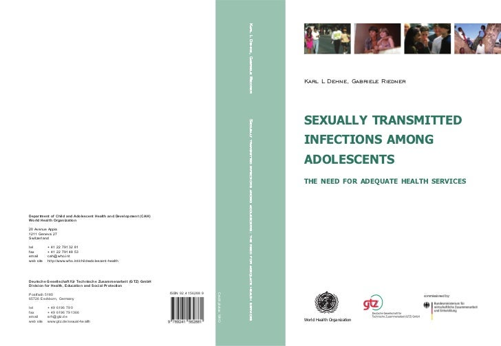 """""""Sexually Transmitted Infections among adolescents- The need for adequate health services"""" (WHO) 2005"""