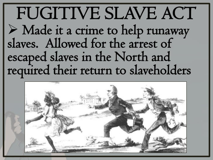 essays fugitive slave law Mercy street | fugitive slave act 1850 students will read an essay about the fugitive slave act of 1850 and answer a series of text-dependent discussion questions.