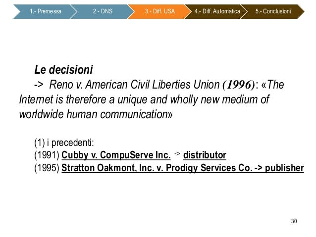 Reno v. ACLU   US Law   LII / Legal Information Institute