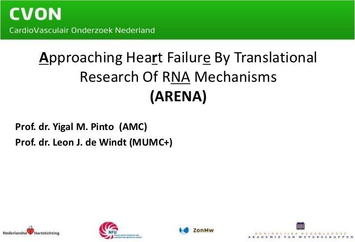 Presentatie Prof. dr. Pinto en Prof. dr. de Windt