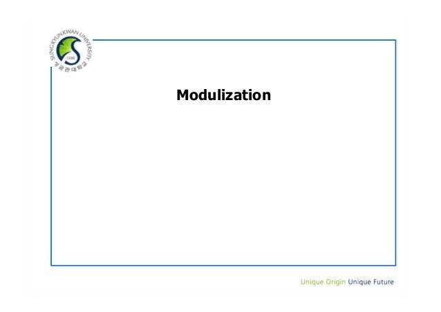 Modulization
