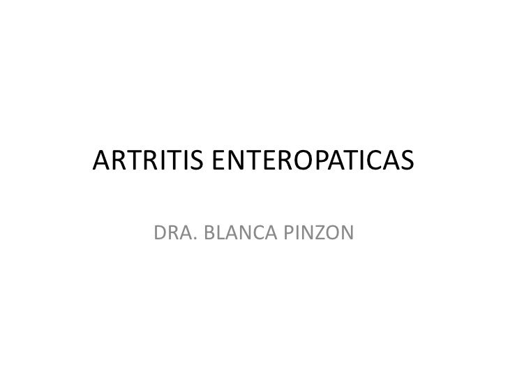 15. artritis enteropaticas