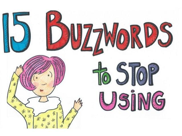 15 Marketing Buzzwords to Stop Using