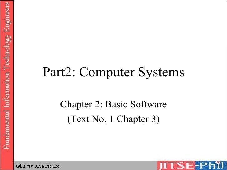 15. Computer Systems   Basic Software 1