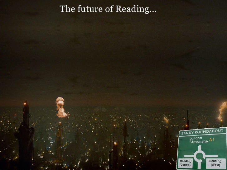 The Future Of Reading (Guy Dickinson)