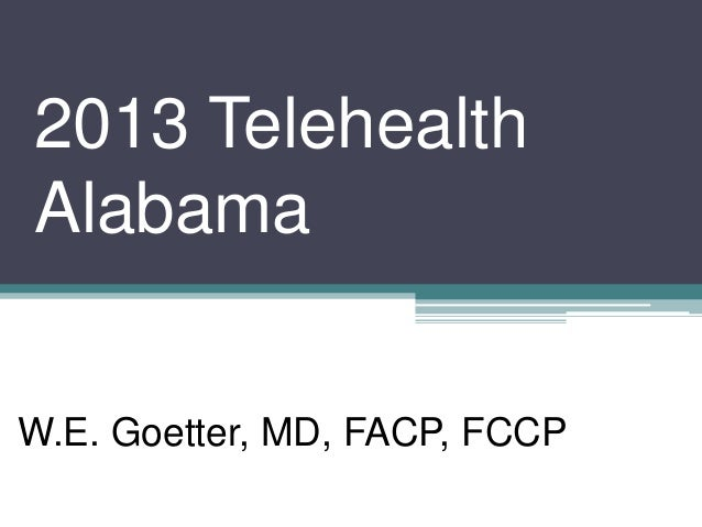 Telemedicine and how to get paid using it - Dr. Goetter