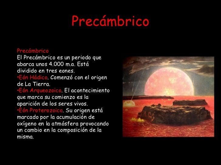 """Precámbrico</p> <ul> <li>Precámbrico</li> </ul> <ul> <li>El Precámbrico es un periodo que abarca unos 4.000 m.a. Está dividido en…"""" data-small=""""http://image.slidesharecdn.com/15-historiadelavidaenlatierra-110221181444-phpapp01/85/15-historia-de-la-vida-en-la-tierra-3-320.jpg?cb=1298312177″ data-normal=""""http://image.slidesharecdn.com/15-historiadelavidaenlatierra-110221181444-phpapp01/95/15-historia-de-la-vida-en-la-tierra-3-728.jpg?cb=1298312177″ data-full=""""http://image.slidesharecdn.com/15-historiadelavidaenlatierra-110221181444-phpapp01/95/15-historia-de-la-vida-en-la-tierra-3-1024.jpg?cb=1298312177″ /> <p style="""