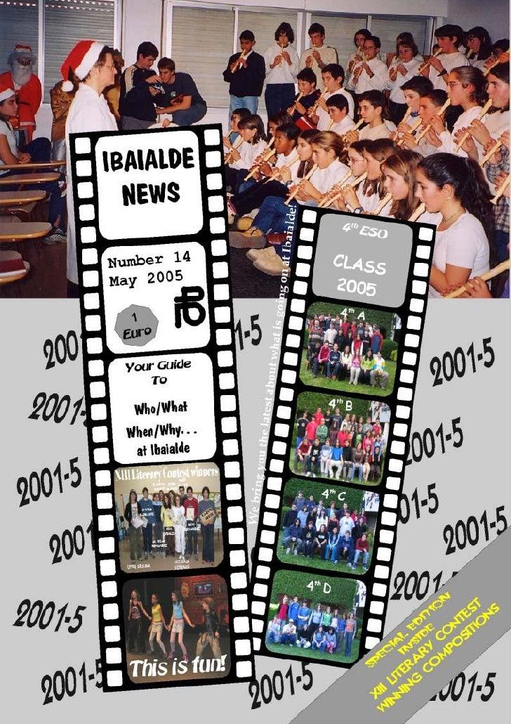 Ibaialde News 14
