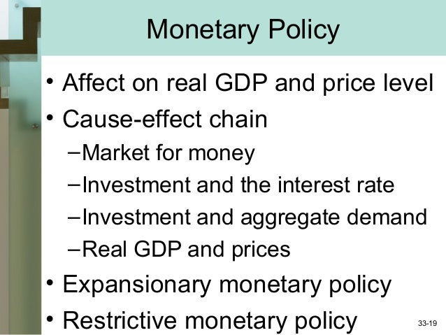 sequestration and monetary policy essay Abstract monetary policy is the program of action undertaken by monetary authorities to control and regulate the supply of money and the flow of credit to the public with a view to achieving pre-determined macroeconomic objectives.