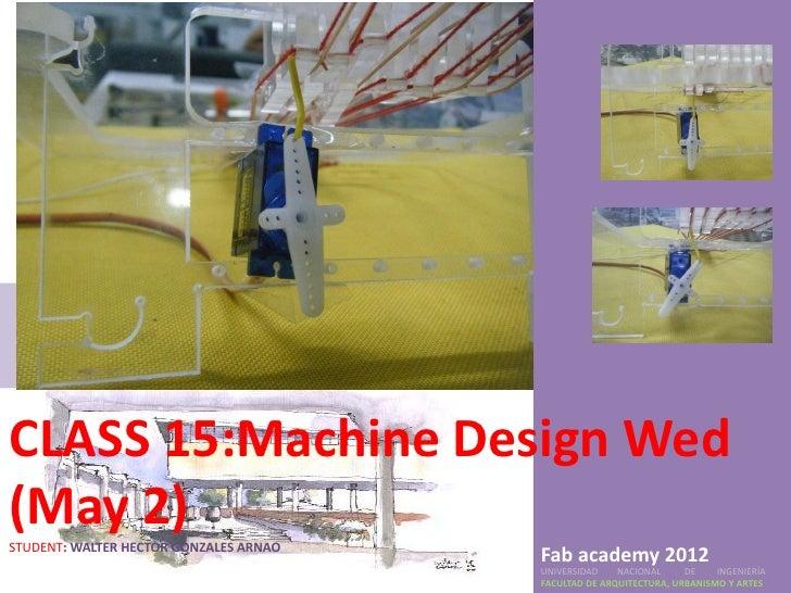15.machine design wed (may 2)