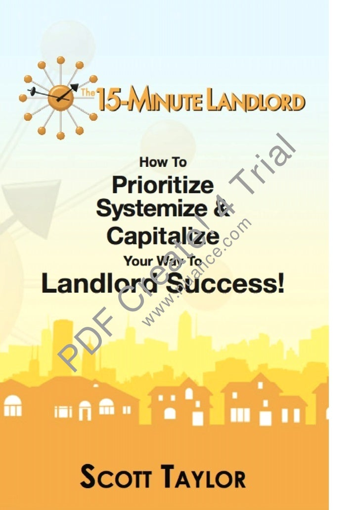 15 minute+landlord+ cover only