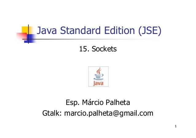 Implementação de Sockets em JAVA