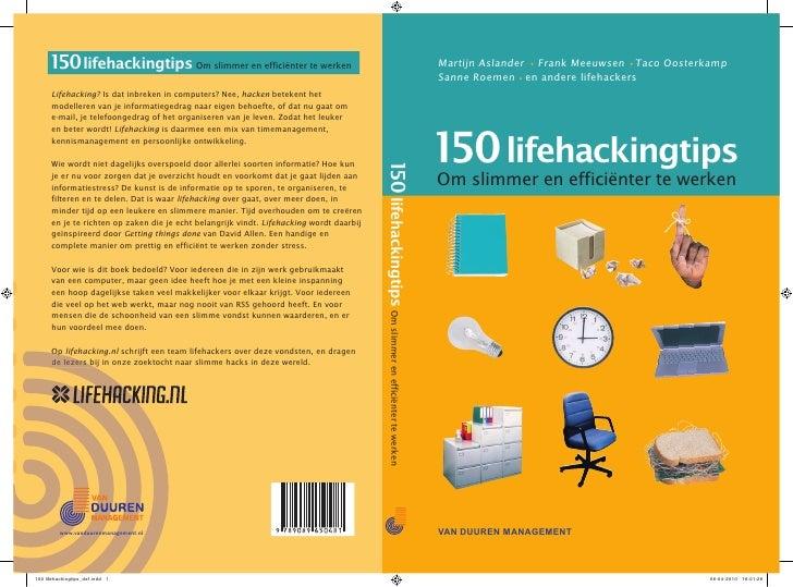 Martijn Aslander Frank Meeuwsen Taco Oosterkamp HET NIEUWE WERKENSanne Roemen en andere lifehackers150 lifehackingtipsOm s...