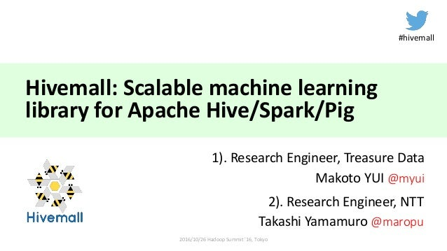 spark machine learning library