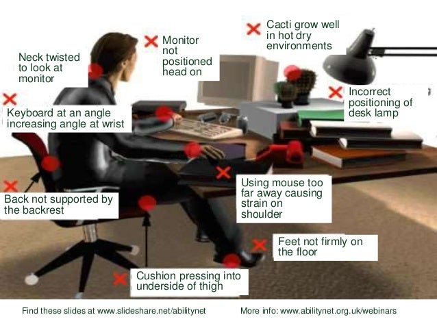 Hr Update Workstation Ergonomics For A Safer More