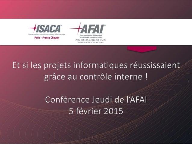 Association Française de l'Audit et du conseil Informatiques