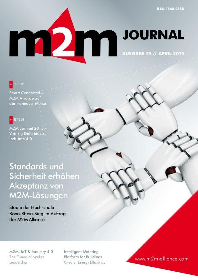 M2M, IoT & Industry 4.0 The Game of Market Leadership Intelligent Metering Platform for Buildings Greater Energy Efficienc...