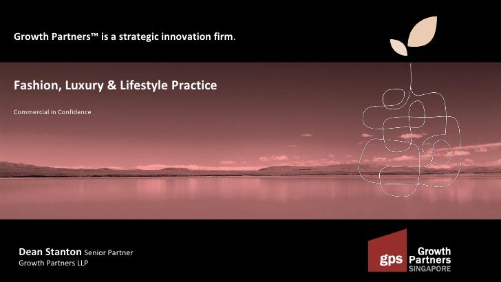 150512 Growth Partners Luxury & Lifestyle